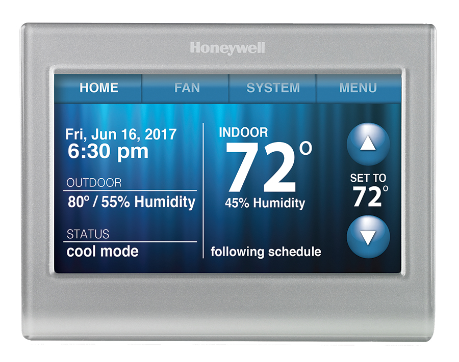 Honeywell Wi-Fi Color Touchscreen Thermostat
